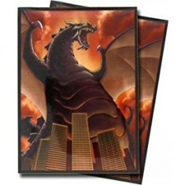 Image Sleeves - HOLO - Standard Size - ZILLA Dino Dragon Destructor! - 50ct Pack