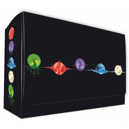 Commander Dual Deck Box with Magnetic Closure - Elemental 5