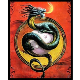 Deck Protector Sleeves - 50ct - Protector of the Wudang