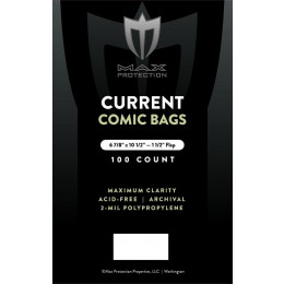 Current Comic Bags - 6 7/8 x 10 1/2 - 100ct Pack