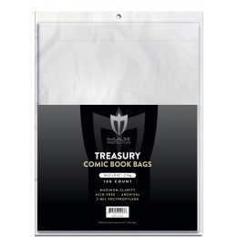 Max Protection Treasury Bags - 10-1/2x13-1/2 - 100ct Pack