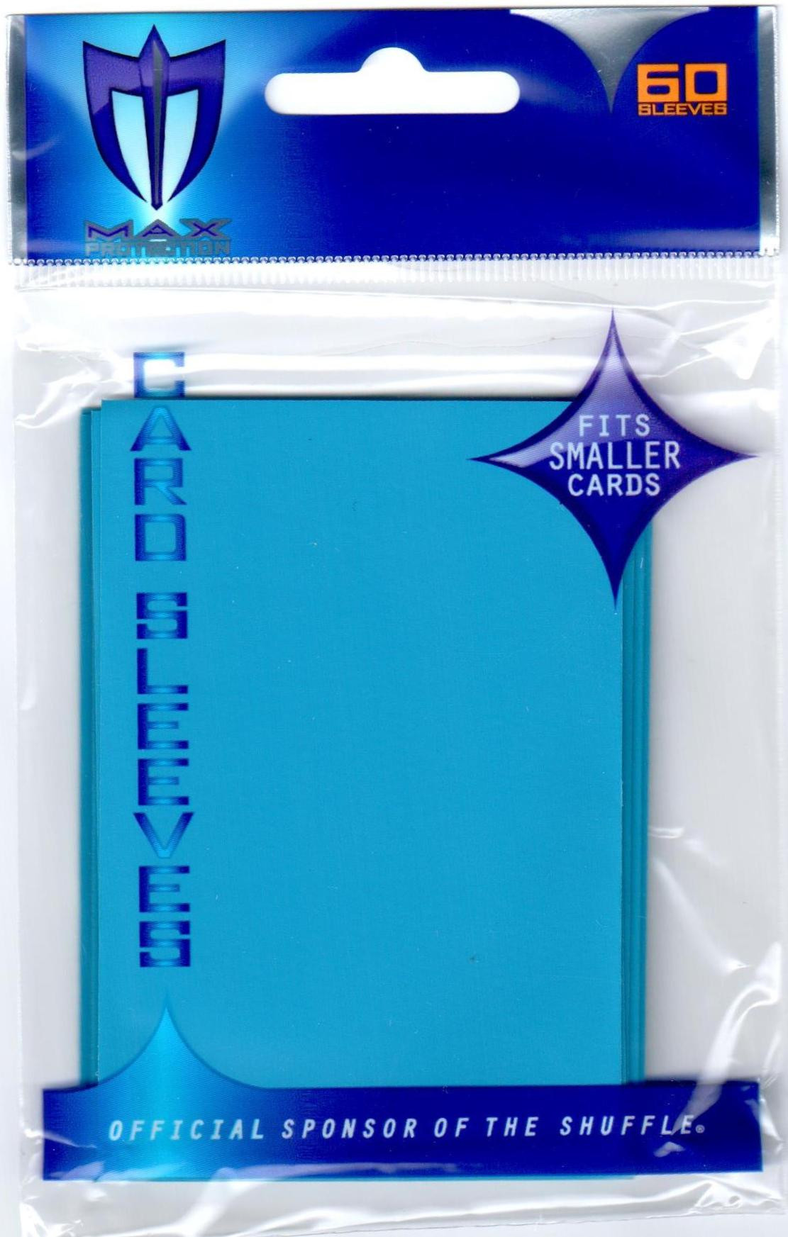 Small Gloss Sleeves - 60ct Yugioh Size - Sky Blue