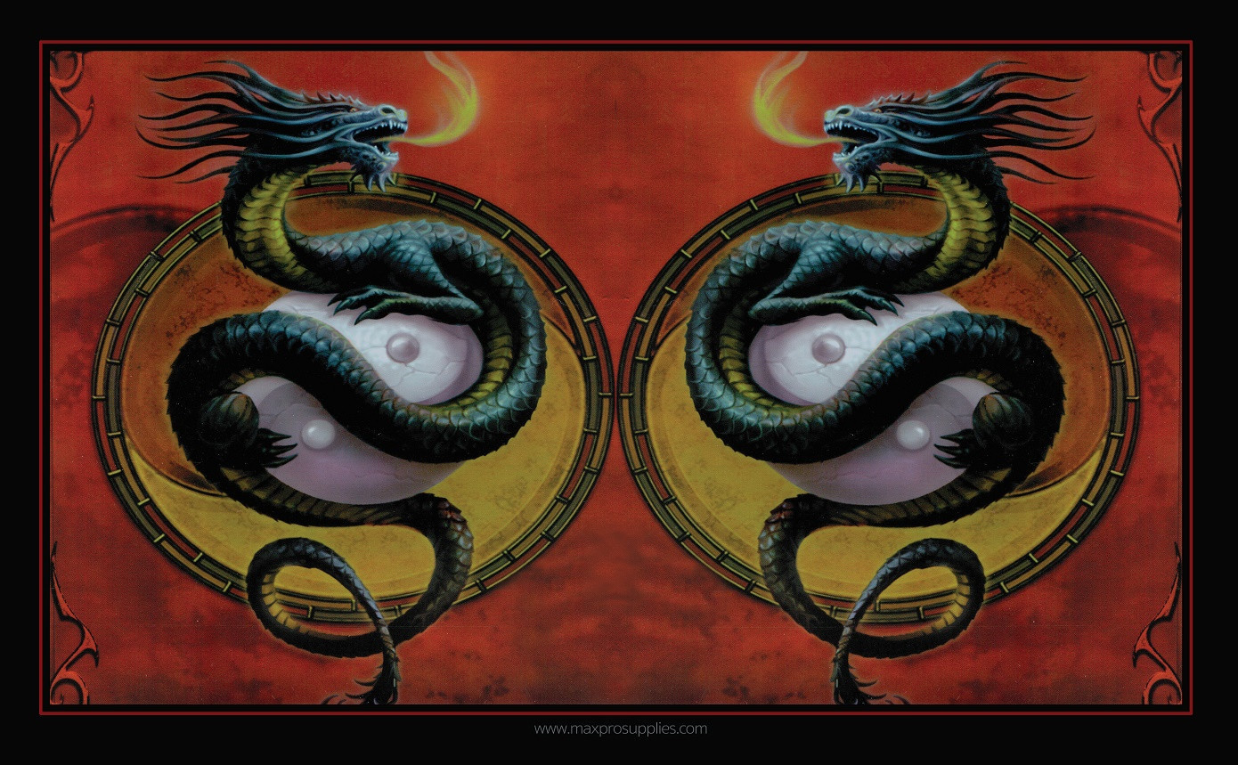 Premium Image Playmat 24x14 - Protector of the Wudang