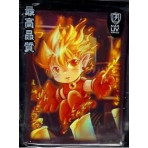 Max Gloss HOLO Fire Boy PYROMANCER Sleeves - Standard Size - 50ct