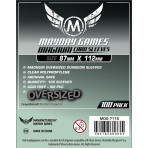 Munchkin Dungeon Sleeves - Magnum Oversized - 87mm x 112mm - 100ct Pack