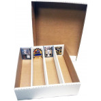 Monster Trading Card Storage Box - 3200ct - Half Lid
