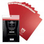 Colored Comic Book Dividers - 25ct Pack - Red
