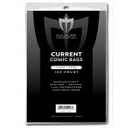 Max Protection Current Comic Bags - Thick - 7x10-1/2 - 100ct Pack