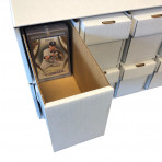 Penthouse XL Card House with 10 - 2pc Vertical Boxes for Magnetic Holders, Toploaders, and Card Saver 2