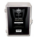 Max Pro Trading Card Hinged Box - 50ct Size