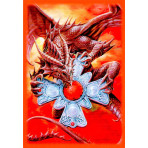 Deck Protector Sleeves - 60ct Small - Dragon Prowler