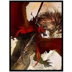 Deck Protector Sleeves - 50ct - Crimson Rider