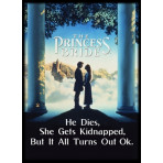 Deck Protector Sleeves - 50ct - Princess Bride