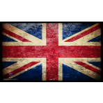Premium Image Playmat 24x14 - Union Jack Great Britain Flag