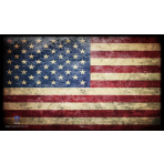 Premium Image Playmat 24x14 - USA - American Flag - Stars & Stripes