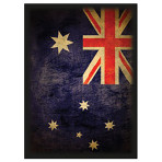 Deck Protector Sleeves - 50ct - Flag of Australia