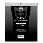 Max Protection Record Sleeves 33RPM - 100ct Pack