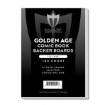 Comic Backing Boards - Golden - 7-1/2 x 10-1/2