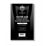 Silver Comic Backing Boards - 7x10-1/2 - 100ct Pack