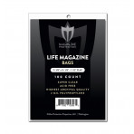 Max Pro Premium Ultra Clear Life Magazine Bags - 100ct Pack