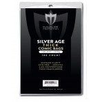 Silver Comic Bags - Thick Comic 7-1/4 x 10-1/2 - 100ct Pack