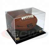 Deluxe Acrylic Football Display Case with Mirror