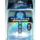 Max Gloss SILVER Neo Rave Sleeves - Standard Size - 50ct
