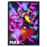Max Gloss HOLO Kung Fu NINJA Guy Sleeves - Standard Size - 50ct
