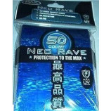 Max Gloss BLUE Neo Rave Sleeves - Standard Size - 50ct