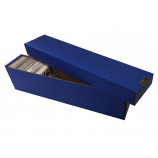 800ct 2pc Cardboard Vertical Trading Card Storage Box - Blue