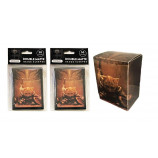 100ct DOUBLE MATTE Deck Protector Sleeves - (2 50ct Packs)