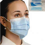 3-Ply Earloop Face Mask - Blue - 10ct