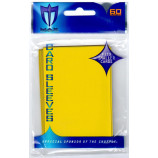 Small Gloss Sleeves - 60ct Yugioh Size - Yellow