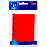 Standard Gloss Sleeves - 50ct MTG Size - Red