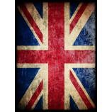 Deck Protector Sleeves - 50ct - Great Britain Union Jack