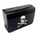 Dual Deck Box with Magnetic Closure - Pirate Skull and Crossbones