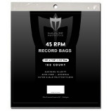 Max Protection 45 RPM Record Bags - 100ct Pack