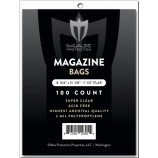 Max Pro Premium Ultra Clear Magazine Bags - 100ct Pack