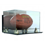Deluxe Acrylic Wall Mount Football Display Case with Mirror