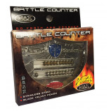 Abacus Style Victory Battle Counter with Velvet Pouch - Blue