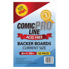 Current Comic Boards - 56 Point - Super Full Back Size - 50ct Pack
