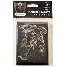 GRIM REAPER - Reap it!  -50ct DOUBLE MATTE Art Deck Protector Sleeves