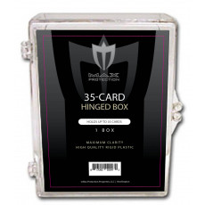 Max Pro Trading Card Hinged Box - 35ct Size