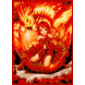 Deck Protector Sleeves - 50ct - Fire Angel